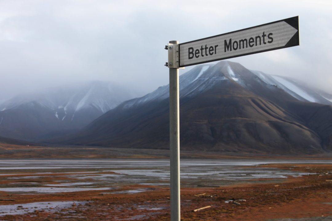 street sign in Svalbard